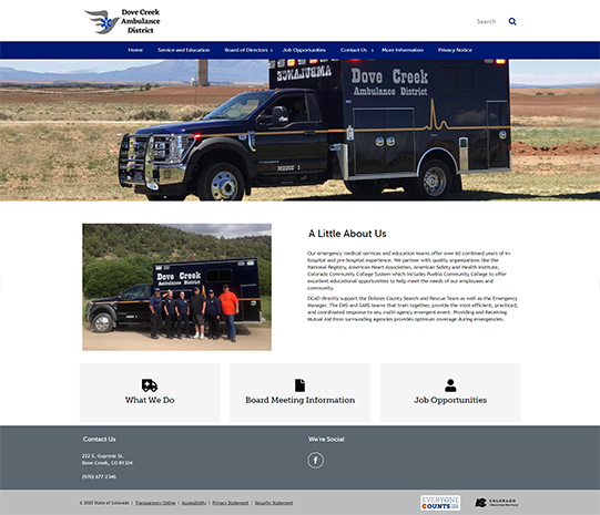 Dove Creek Ambulance District