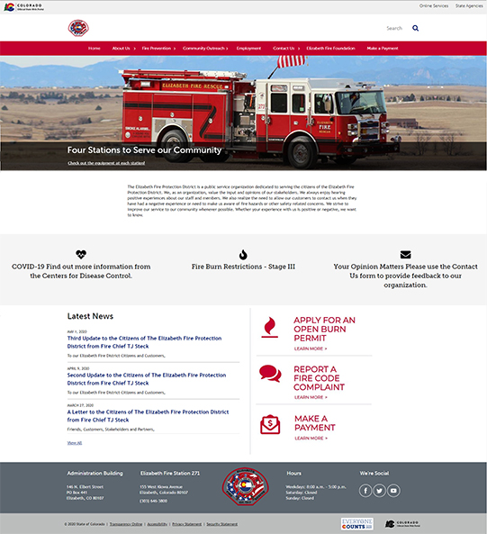 Elizabeth Fire Protection Distric