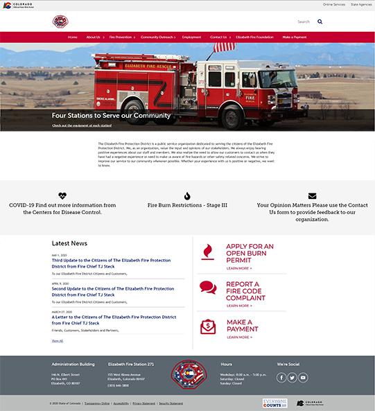 Elizabeth Fire Protection Distric
